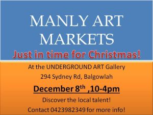 MANLY ART MARKETS