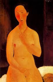 seated-nude-with-necklace-amedeo-modigliani
