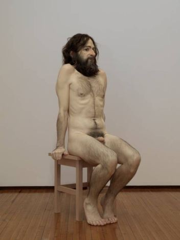 Wild Man 2005 by Ron Mueck born 1958